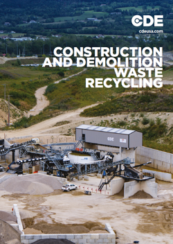 CD Waste Recycling Brochure